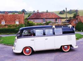 VW Campervan for weddings in Kettering